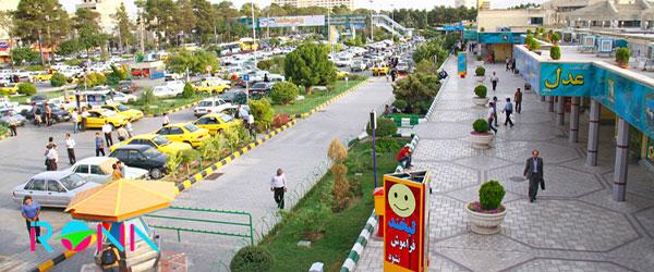 ترمینال برون شهری تور مشهد از اصفهان