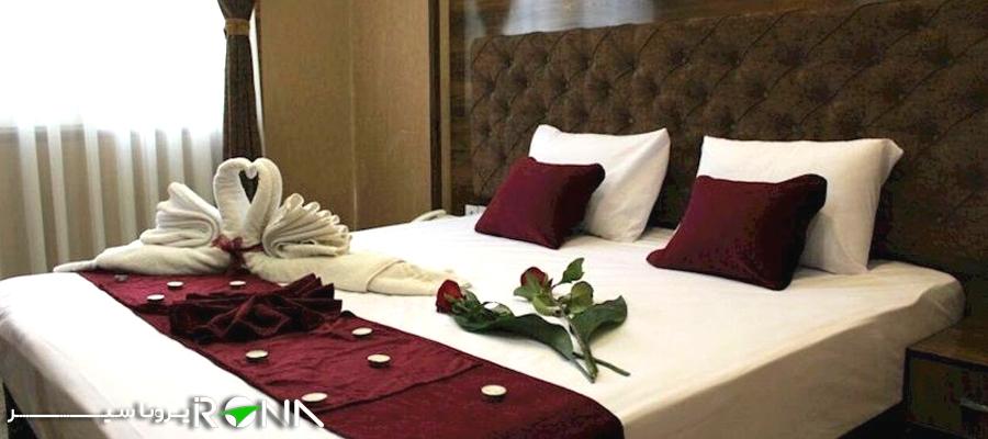 اتاق دابل هتل مشهد