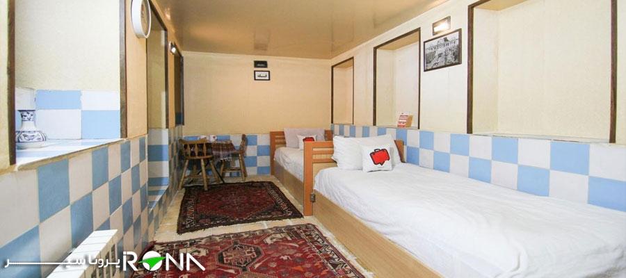 هتل سنتی گلشن شیراز اتاق تویین
