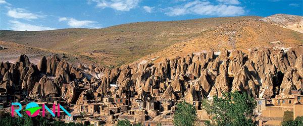 روستای مخروطی کندوان