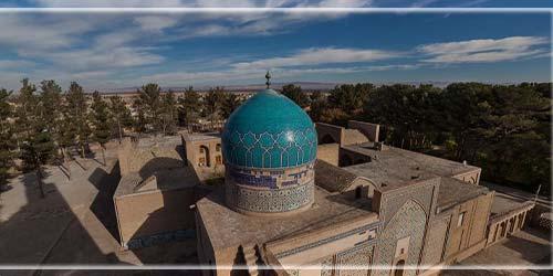 آرامگاه شیخ احمد جامی | گنبد و گلدسته ها